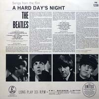 the beatles back cover a hard days night