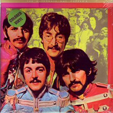 the beatles with a little help from my friends single images disco album fotos cover portada