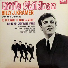billy j kramer little children album disco cover portada
