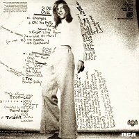 back cover david bowie hunky dory contraportada disco album
