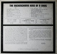 the buckinghams albums reviews portada disco