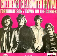 creedence Clearwater revival fortunate son single images disco album fotos cover portada