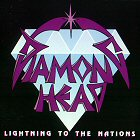 Diamond head lightning to the nations images disco album fotos cover portada
