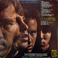 the doors back cover album 1967