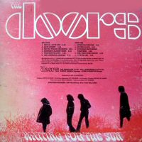 the doors back cover waiting for the sun