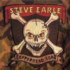 Steve earle copperhead road disco album cover portada