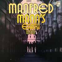 manfred mann earth debut band album disco cover portada