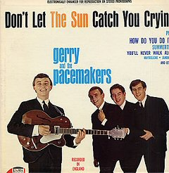 gerry and the pacemakers walk alone you never album disco cover portada