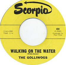 the golliwogs walking on the water single images disco album fotos cover portada