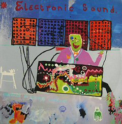 george harrison electronic sound album disco cover portada