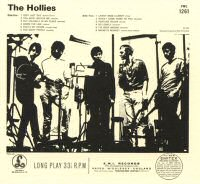 the hollies back cover contraportada album disco
