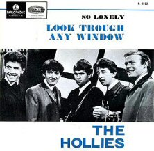 the hollies look through any window single images disco album fotos cover portada