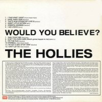 the hollies would you believe back cover album contraportada