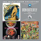 iron butterfly triple album collection album cover portada