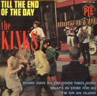 the kinks single till the end of the day images disco album fotos cover portada