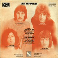 led zeppelin back cover contraportada discos
