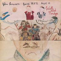 john lennon walls and bridges album disco cover portada