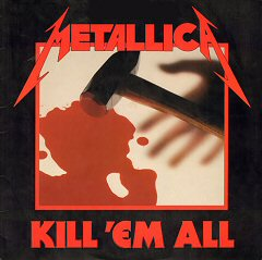 metallica kill em all album disco cover portada