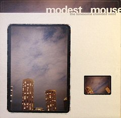 the lonesome crowded west modest mouse album disco cover portada