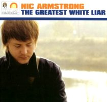 nic armstrong the greates white liar portada cover