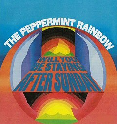 the peppermint rainbow album disco cover portada