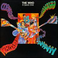 the who a quick one cover portada