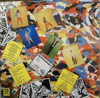 back cover the rezillos contraportada album cant stand