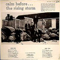 the rising storm calm before back cover disco