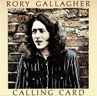 rory gallagher calling card album cover portada