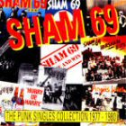 the punk singles collection sham 69 images disco album fotos cover portada