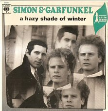 paul simon art garfunkel hazy shade of winter single images disco album fotos cover portada