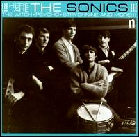 the sonics here are the sonics cover portada