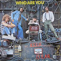 the who who are you album disco cover portada