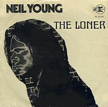 neil young the loner single images disco album fotos cover portada