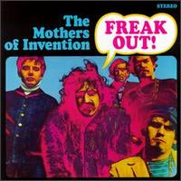 frank zappa freak out album cover portada