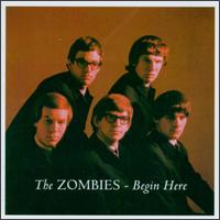 the zombies begin here album cover portada