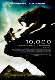 10000 bc movie poster cartel pelicula review
