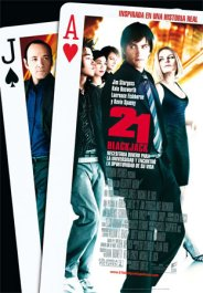 21 black jack movie poster cartel pelicula