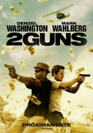 2 guns movie poster cartel pelicula review