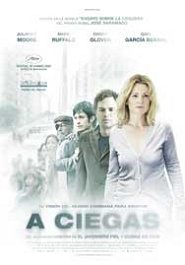 a ciegas review poster