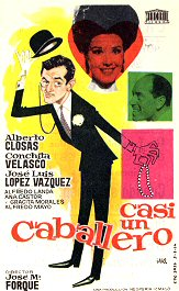 Alberto closas casi un caballero pelicula movie cartel poster