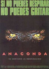 anaconda movie poster cartel pelicula
