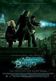 el aprendiz de brujo cartel poster pelicula movie review the sorceres apprentice