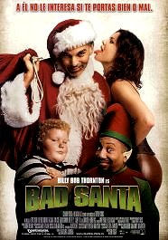 bad santa cartel pelicula movie poster