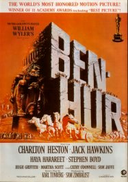 ben hur movie poster cartel pelicula review
