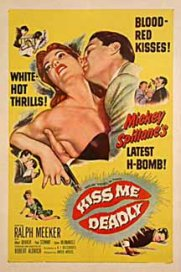 el beso mortal cartel pelicula kiss me deadly movie poster