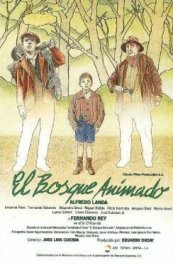 el bosque animado cartel pelicula movie poster review