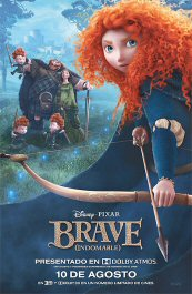 brave cartel poster indomable movie pelicula