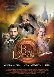 la brujula dorada the golden compass movie review cartel poster
