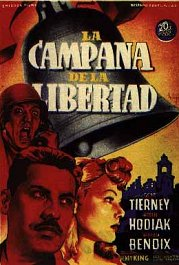 la campana de la libertad cartel pelicula poster movie a bell for adano